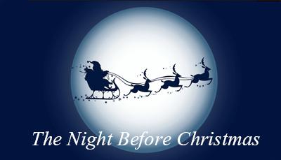 The Night Before Christmas. Christmas Story by Mr. Santa- Talk to Santa