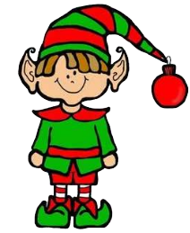 Elve is Santa's Favorite! Find out about all three elves on Talk to Santa